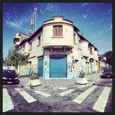 Old houses at Pari district, Sao Paulo - Brazil