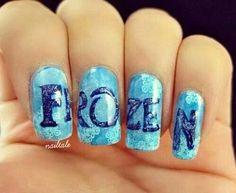Frozen nails <3