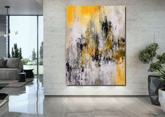 Large Abstract Wall Art Paintings for Living Room, Hand Painted Acrylic Paintings – Page 6 – Silvia Home Craft Living Room Canvas Painting, Simple Canvas Paintings, Hand Painting Art, Large Painting, Acrylic Painting Canvas, Canvas Art, Painted Canvas, Hand Painted, Abstract Paintings