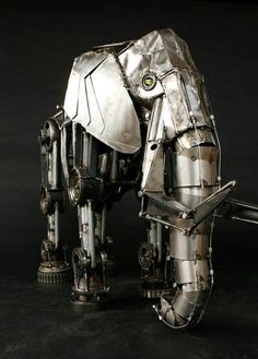Steampunk Elephant by Andrew Chase