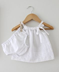 White cotton bloomers on your littlest flower girl. Can not go wrong.
