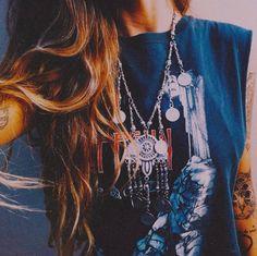 Boho Look | Bohemian hippie chic bohème vibe gypsy fashion indie folk the 70s festival style Coachella fashion
