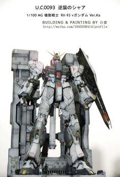 MG 1/100 RX-93 Nu Gundam Ver. Ka - Diorama Build