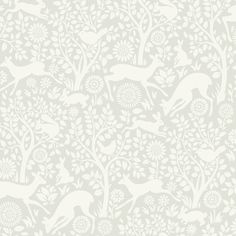 "Found it at Wayfair - Hide and Seek Anahi Forest Fauna 33' x 20.5"" Wildlife Embossed Wallpaper                                                                                                                                                                                 More"