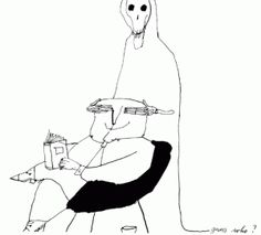 Tomi Ungerer: Humor Put to Pen and Ink and Watercolor theartblog