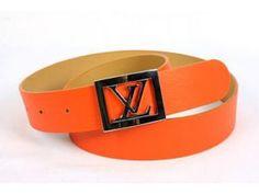 Belts and buckles - www.myLusciousLife.com - louis vuitton all orange belt simple buckle.jpg
