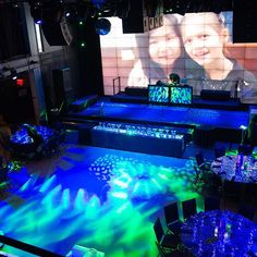 Our 30' wide x 15' high video wall – a dramatic backdrop for your next special event – imagine the possibilities.  Call our event planners at 718.255.6921. #eventspace #socialevents #corporateevents #nonprofitevents #nonprofitparties #hospitalityexperts #hospitality #astoria #LIC #melroseballroomparties #amazingparties #barmitzvah  #batmitzvah #Rooftoplounge #privateevents #modernvenue #partyvenue #chicvenue #NYC #videowall  #partyplanner #sweetsixteen #birthdaypartyideas #evedeso…