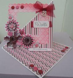 Handmade by Maureen - A Blog: Paper flowers to make me feel better...