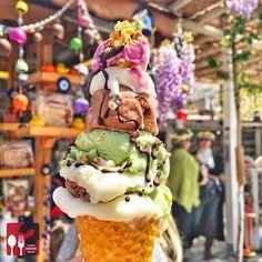 @yemekneredeyenircom - Dondurma ( Keçi Sütlü, Çikolatalı, Antepli, Karadutlu) - Furkan Usta - Şirince Dondurmacısı - Şirince / Selçuk - İzmir@cikolatadiyarinet 5  TL / Külah