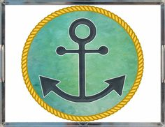 Nautical Inspired Decorative Tray