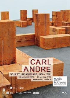 Expo Carl Andre, Sculpture as place (1958-2010) - Musée d'Art moderne