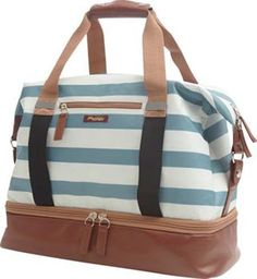 Po Campo Midway Weekender Bag: Stripes in Bags & Panniers   eBay
