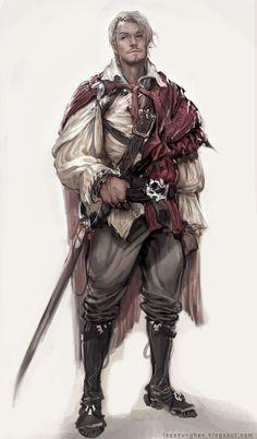 Image result for middle aged man rpg character design