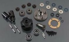 Thunder Tiger PD2448 Differential Set Front/Rear EB-4 S3 G3 by Thunder tiger. $29.99. Save 21%!