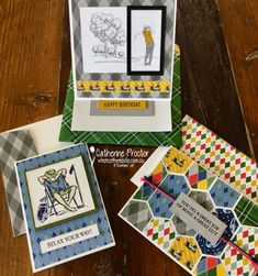Art With Heart Creative Showcase: Masculine Cards - What Cathy Made