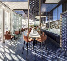 Blue Wave bar by El Equipo Creativo, Barcelona – Spain » Retail Design Blog