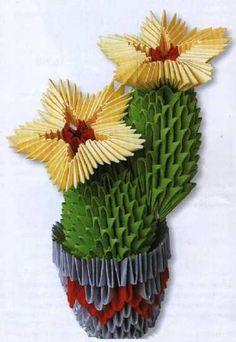 Cactus. Кактус с желтыми цветами