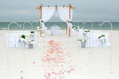 Big Day Weddings, Princess Wedding Package, Wedding Packages, Beach Weddings, Alabama Beach Weddings, Gulf Coast Weddings, Orange Beach Alabama, Gulf Shores, Flower Aisle
