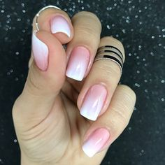 Elegant Nail Designs You can collect images you discovered organize them, add your own ideas to your collections and share with other people. Elegant Nail Designs, Nail Art Designs, Nails Design, Purple Nails, Pink Nails, Love Nails, Pretty Nails, Nail Art Vernis, Nagellack Design
