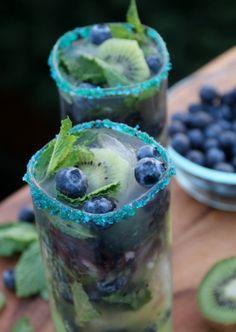Kivi blubearry  mohito