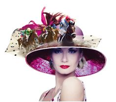 Kelvin Hughes Design and Art Direction Photomontage - Ladies Day at Brighton Races