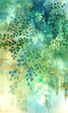 Image result for negative painting examples in watercolour.