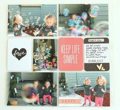 Becky Higgins Project Life creative team inspiration May 2016