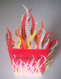 ideas displayed in fahrenheit 451 by ray bradburry Nothing so dangerous as an idea: ralph steadman's illustrations for ray bradbury's 'fahrenheit 451' 12 books are banned because they contain ideas that.