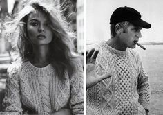 What could a fisherman not do without? Apart from his net and boat of course – a truly hard wearing fisherman sweater. http://www.2dmblogazine.it/2012/11/the-fisherman-sweater-from-function-to-fashion/