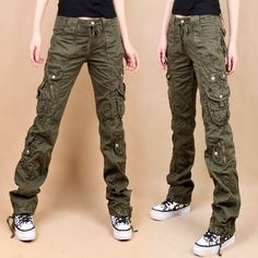 Skinny jean-fit cargo pants.or in black would be the other best pick for wrath: