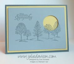 Reverse Spotlighting Sympathy Card