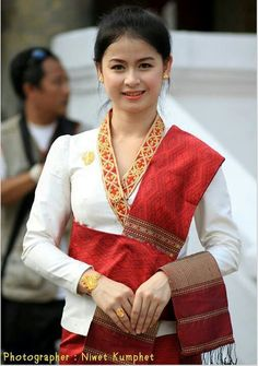 Beautiful Laos costume