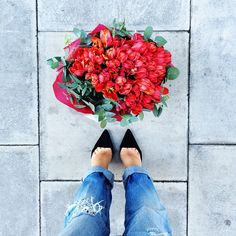Pretty blooms #FromWhereIStand