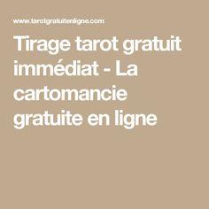 Tirage tarot gratuit immédiat - La cartomancie gratuite en ligne Tirage Tarot  Gratuit, Cartomancie, 8af2e16539c1