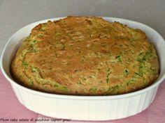 Plum cake salato di zucchine-saporigreci