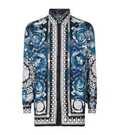 Collectible - Vintage Gianni Versace 100% silk men s shirt - 1990 s Sz XL.  Ruben Varela · Silk Shirts · VERSACE Watercolour Baroque Silk Shirt. def3056b925