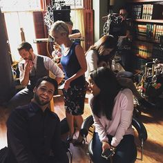 Making A How To Get Away With Murder. New episode tonight 10/9c on ABC. #HTGAWM  @jackfalahee  @ajanaomi_king  @lizaweil  @thecharlieweber  @karlasouzaofficial