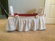 Wedding wagon for young flower girl or ring bearer