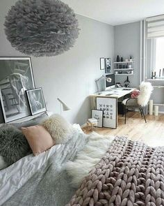Grey wall colour (for bedroom)