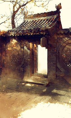 Chapter Mystique of Spirit Refining Chinese Buildings, Ancient Chinese Architecture, Japanese Painting, Chinese Painting, Landscape Art, Landscape Paintings, Watercolor Architecture, Art Asiatique, China Art