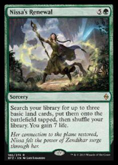 Nissas-Renewal-x4-Magic-the-Gathering-4x-Battle-for-Zendikar-mtg-rare-card-lot