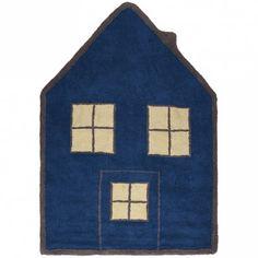 LeTapis garçon souple marron Maison de Lorena Canals est confortable, solide et lavable en machine.