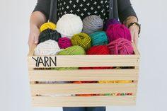 learn to crochet.