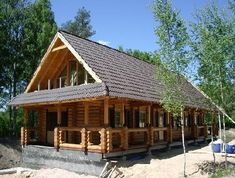 Cabin on pinterest survival shtf and root cellar - Small log houses dream vacations wild ...