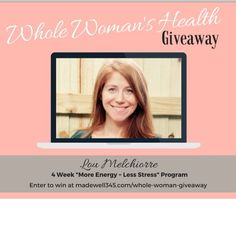 Im super excited to be taking part in Brianna Wilkersons Whole Womans Health Giveaway focused on help us women be empowered to be healthy and thrive in all areas of our lives!  And let me tell you the lineup of gifts for you is so good that I couldnt keep it to myself.  You can win things to help you  Find a way of eating that works for you Include exercise in your everyday schedule Have more energy on a daily basis Develop a healthier mindset around food your body and yourself Stress less…