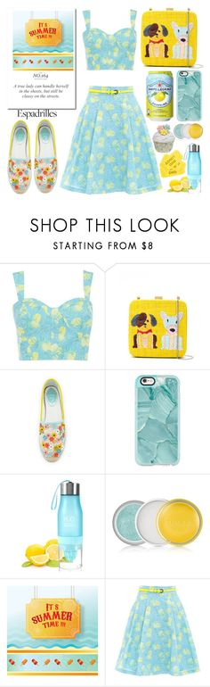 """""""Step Into Summer: Espadrilles"""" by emcf3548 ❤ liked on Polyvore featuring Oasis, Serpui, René Caovilla, Casetify, Clinique and espadrilles"""
