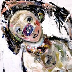 marianne aulie Clown Images, Edvard Munch, Beautiful Paintings, Madonna, Norway, Texture, Clowns, Abstract, Drawings