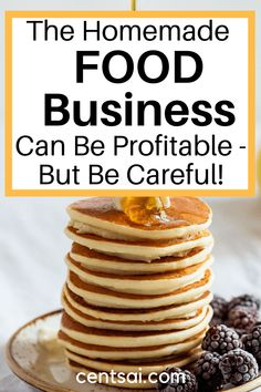 The Homemade Food Business Can Be Profitable - But Be Careful! Wow! This is really helpful especially that I just started my home business!
