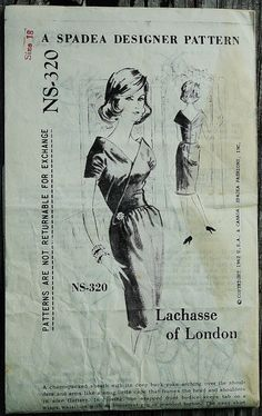Spadea Lachasse of London NS-320 1960s 60s by EleanorMeriwether