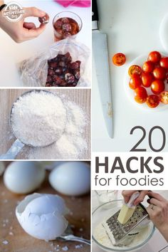 Make cooking, fast, easy, fun AND healthy with these kitchen foodie tricks!